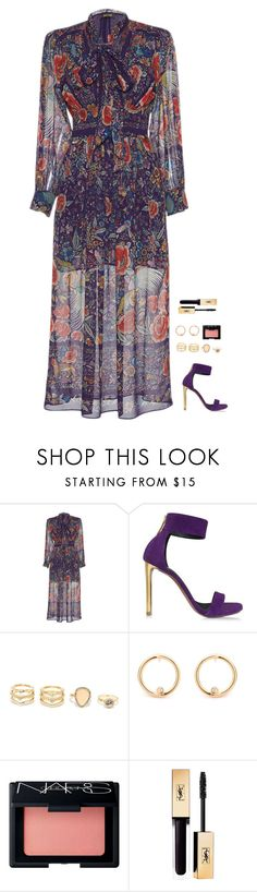 """Untitled #719"" by h1234l on Polyvore featuring Roberto Cavalli, LULUS and NARS Cosmetics"