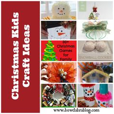 Bowdabra Christmas Kids Crafts