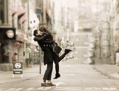 Korea concept outdoor photo shoot, Korean date snap, Korean pre wedding photo… Korean Wedding Photography, Wedding Photography Packages, Couple Photography, Pre Wedding Photoshoot, Wedding Shoot, Wedding Dresses, Wedding Ideas, Wedding Poses, Photoshoot Ideas