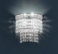 Beautiful crystal sconce