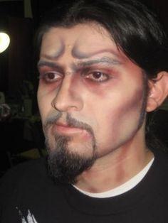 Dracula Halloween Makeup for Men and Boys | Best Halloween Makeup ...