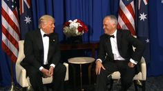 Hours after scoring a victory in the House to effectively kill Obamacare, US President Donald Trump praised Australia's universal healthcare system during a press conference with Prime Minister Malcolm Turnbull.