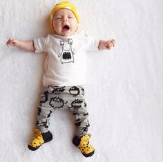Baby Little Monster 2pcs Set