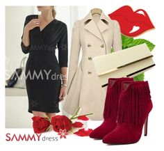 """Sammydress 46"" by danijela-3 ❤ liked on Polyvore featuring women's clothing, women's fashion, women, female, woman, misses, juniors, MustHave, sammydress and winteredition"