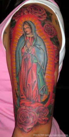 Lady of Guadalupe Tattoo