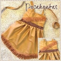 Fabulous Pocahontas Inspired Dress!