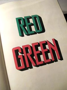 Sketchbook Lettering by Carl Fredrik Angell, via Behance
