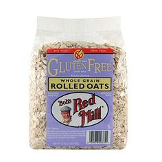 For a wonderfully wholesome breakfast, start your day with a bowl of oatmeal made with Gluten Free Organic Old Fashioned Rolled Oats. They're whole grain, high fiber and provide 7g of protein per serv