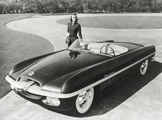 "1953 Dodge Firearrow ""idea car"" inspired the Rat Pack's signature ride, the Dual Ghia."