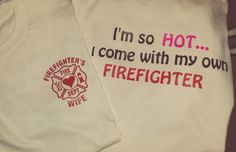 Firefighter Wife's(Sweaters OUT OF STOCK, all others in stock) on Etsy, $18.50