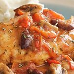 Quick Chicken Cacciatore