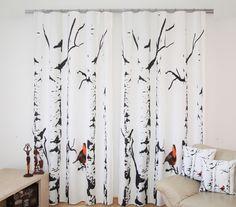 Moderní přehozy na postel 3D s potiskem stromů Decorative Cushions, Pillows, Cushion Pillow, Living Room Decor, Curtains, Edinburgh Scotland, Pattern, Handmade, Pillow Design