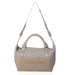 Calvin Klein Beige Satchel on glamouronthego.co.uk