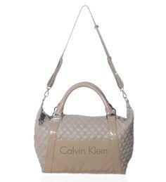 Calvin Klein Beige Satchel on glamouronthego.co.uk