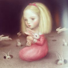 Nicoletta Ceccoli is a San Marinian artist who is known for her richly detailed, dreamlike work. She was born in and still lives in the Republic of San Marino and studied animation at the Institute of Art in San Marino, Italy. She has illustrated many books, most recently published is Cinderella. Her work has been exhibited and sold internationally.