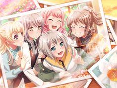 The BanG Dream! Manga Anime Girl, Cool Anime Girl, Anime Girl Drawings, Beautiful Anime Girl, Cute Anime Pics, Kawaii Anime Girl, Anime Manga, Friend Anime, Anime Best Friends