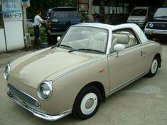 Nissan Figaro in Topaz Mist - love love love this car.