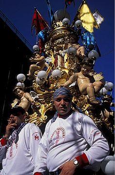 Candelaria, Sant' Agata fiesta, Catania, Sicilia, Italia