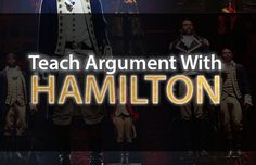 Awesome lesson plan for teaching argument, rhetorical analysis, and close reading with Hamilton! Perfect for high school English, especially AP Language and Composition!
