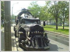 Post apocalyptic Russian truck inspired by Mad Max Mad Max, Zombie Apocalypse, Funny Photos, Cool Photos, Truck Names, Strange Cars, Weird Cars, Gothic, Bug Out Vehicle