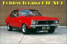 Holden Torana GTR - equipped with a Hi Performance 6 Cyl with triple SU carbs. Australian Muscle Cars, Aussie Muscle Cars, Australian Homes, Holden Muscle Cars, Holden Torana, Cool Old Cars, Old School Cars, Amazing Cars, Hot Cars