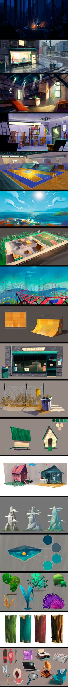 Visual Development on Behance