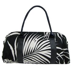 Front view of the Black Palms California Bag.