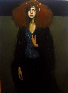 """Gold in her Hair"", Malcolm Liepke."