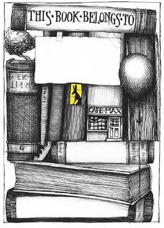 Bookplate by Colin Thompson