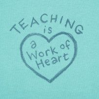 Life is Good Tshirt #Teaching is a work of heart. #Teachers