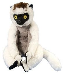"""Cuddlekins Sifaka by Wild Republic - 12255  Cuddlekins are one of the most popular stuffed animals made! Each cute and cuddly Cuddlkins is made with quality material and extremely soft. This plush wildlife toy is great for all ages. The perfect gift for the animal lover in your life. Measures 12"""""""