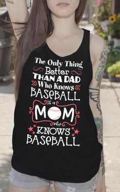 Perfect top for Baseball Moms! Available in many styles and colors. Softball Shirts, Dodgers Shirts, Girls Softball, Softball Stuff, Baseball Tops, Baseball Crafts, Dodgers Baseball, Yoga Routine, Yoga Fitness