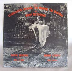 """Horror Rhapsody"" LP -- Frankenstein Dracula, Mummy Wolfman Record by composer Hans Salter, Universal Monster Music!"