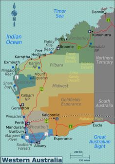 Western Australia travel guide – Wikitravel Source by ssueur Esperance Australia, Broome Australia, Queensland Australia, Melbourne Australia, Great Barrier Reef Australia, Travel Guides, Travel Tips, Travel Goals, Australia Occidental