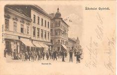 Győr 1901, Baross út. Painting, Art, Art Background, Painting Art, Kunst, Paintings, Performing Arts, Painted Canvas, Drawings