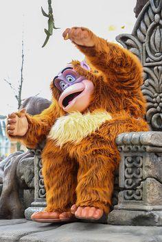 King Louie! - Jungle Book he's kinda scary