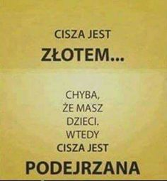 Cisza Polish Memes, Funny Quotes, Funny Memes, Just Smile, Wtf Funny, Powerful Words, True Stories, Quotations, Texts