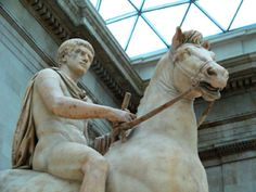 Caligula's Horse Incicatus - Yahoo! Voices - voices.yahoo.com (Statue of Caligula in the British Museum. The identity of the horse he is riding is unknown.)