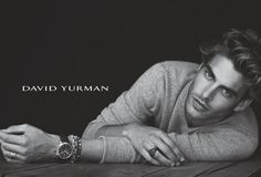 David Yurman - finally a men's jewelry line that doesn't look like it came from a bubble gum machine.