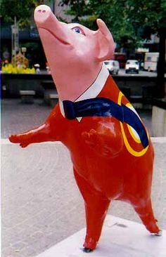 """Hogtide, Proctor & Gamble, Cincinnati """"Big Pig Gig"""" (has nothing to do with a favorite writer, but I didn't want Hamlet to feel like a token)"""