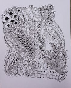 Zentangle -inspired art (ZIA) Holly Williams (Hollyw54 on Flickr)