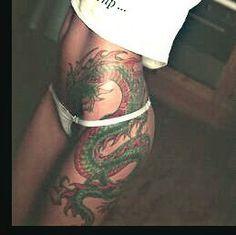 dragon hip tattoo - Google Search