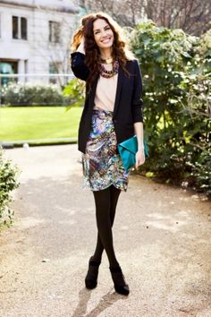 Would love to put together a little work outfit like this - daily!
