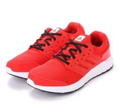 new concept 9d99d da407 ADIDAS MENS 11 Galaxy 3 M Red White Black BA8196 Running Trainers Sneakers  Shoes Hombres,