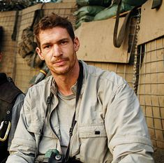 """The film begins with Tim Hetherington trying to describe why he risks his life to tell stories from some of the world's most dangerous regions. Eventually, he finds the right words: """"I want to connect with real people, to document them in real circumstances, where there aren't any neat solutions."""""""