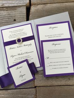 Opulence Pocket Wedding Invitation  A pocket full of miracles for your perfect event.  Our pocket invitations are the ultimate in function and fashion, holding all of your multi-event or destination wedding details in the most beautiful and enduring way.