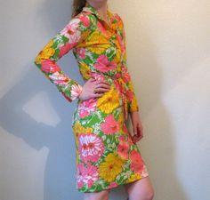 vintage lilly pulitzer shirtdress, $180