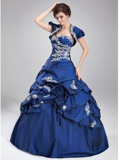 Special Occasion Dresses - $239.99 - Ball-Gown Sweetheart Floor-Length Taffeta Quinceanera Dress With Ruffle Lace Beading Sequins  http://www.dressfirst.com/Ball-Gown-Sweetheart-Floor-Length-Taffeta-Quinceanera-Dress-With-Ruffle-Lace-Beading-Sequins-021004677-g4677