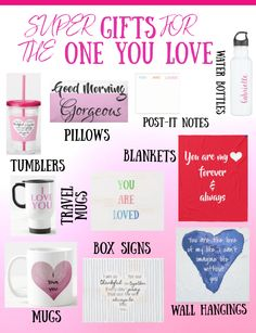 These are super gifts for the one you love! DAILY DEALS! For Valentine's Day or any other day of the year! These gifts are daily reminders for the one you love! #valentinesdaygifts #giftsfortheoneyoulove #giftsforfiance #giftsforgirlfriends #giftsforboyfriends