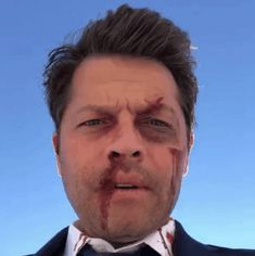 Misha on set 7/17/18 from twitter